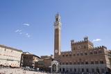 Piazza Del Campo, Palazzo Pubblico, Sienna, Tuscany, Italy Photographic Print by Martin Child