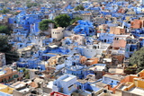 Blue City, Jodhpur, Rajasthan, India, Asia Photographic Print by  Godong