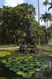 Fountain of the Muses, Rio De Janeiro Botanical Gardens, Rio De Janeiro, Brazil, South America Photographic Print by Gabrielle and Michael Therin-Weise