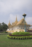 The Throne Hall, the Royal Palace, Phnom Penh, Cambodia Photographic Print by Robert Harding