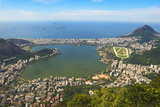 View from the Corcovado over Ipanema Photographic Print by Gabrielle and Michael Therin-Weise