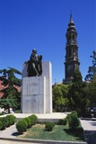 Francisco Goya Monument, Zaragoza, Aragon, Spain Photographic Print by Peter Scholey
