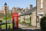 Bamburgh Village and Castle, Northumberland, England, United Kingdom, Europe Photographic Print by James Emmerson