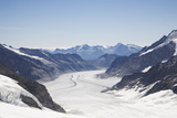 Aletsch Glacier, UNESCO World Heritage Site, Kleine Scheidegg Photographic Print by Angelo Cavalli
