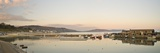 Panoramic View Back to the Harbour at Lyme Regis Taken from the Cobb Photographic Print by John Woodworth