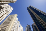 High Rise Buildings, Dubai, United Arab Emirates, Middle East Photographic Print by Balan Madhavan