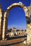Umayyad Ruins, Anjar, Lebanon Photographic Print by Fred Friberg