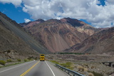 Mountain Pass Between Mendoza and Santiago, Andes, Argentina, South America Photographic Print by Michael Runkel