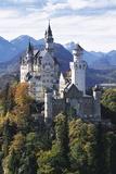 Neuschwanstein Castle, Allgau, Germany Fotografisk tryk af Hans-Peter Merten