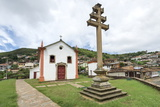 Padre Faria Church, Ouro Preto, UNESCO World Heritage Site, Minas Gerais, Brazil, South America Photographic Print by Gabrielle and Michael Therin-Weise