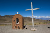 Christian Sanctuary on a Mountain Pass Near Mendoza, Argentina, South America Photographic Print by Michael Runkel