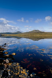 Craggy Seascape of Loch Dunvegan on the Isle of Skye Photographic Print by Charles Bowman