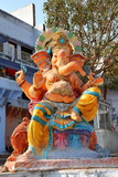 Hindu God Ganesh, India, Asia Photographic Print by  Godong