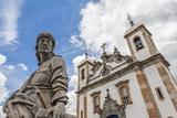 Santuario De Bom Jesus De Matosinhos Photographic Print by Gabrielle and Michael Therin-Weise