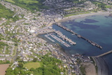 Aerial Shot of Newlyn Fishing Harbour Near Penzance, Cornwall, England, United Kingdom, Europe Photographic Print by Robert Harding