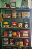 Old Food Conserves in the Port Lockroy Research Station, Antarctica, Polar Regions Fotografisk trykk av Michael Runkel