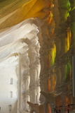 Sunlight Through Stained Glass, Sagrada Familia, Barcelona, Catalunya, Spain, Europe Photographic Print by James Emmerson