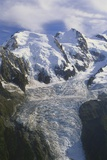 Mont Blanc, Haute-Savoie, Alps, France Photographic Print by Roy Rainford