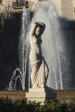 Nude Statue, Placa De Lesseps, Barcelona, Catalunya, Spain, Europe Photographic Print by James Emmerson