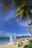 Reduit Beach, Rodney Bay, St Lucia, Caribbean Photographic Print by John Miller