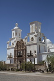 San Xavier Del Bac Mission Photographic Print by Richard Maschmeyer
