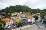 View over Sintra, UNESCO World Heritage Site, Portugal, Europe Photographic Print by Michael Runkel