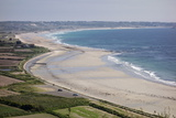 Beaches on St. Ouen's Bay, Jersey, Channel Islands, United Kingdom, Europe Photographic Print by Roy Rainford