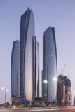 The Etihad Towers, Abu Dhabi, United Arab Emirates, Middle East Photographic Print by Angelo Cavalli