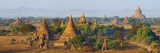 Bagan (Pagan), Myanmar (Burma), Asia Photographic Print by  Tuul