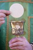 Celebration of the Eucharist, Catholic Mass, Villemomble, Seine-Saint-Denis, France, Europe Photographic Print by  Godong