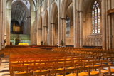 The Nave of York Minster Photographic Print by Julian Elliott