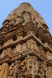 Parshwanath Temple, Khajuraho, UNESCO World Heritage Site, Madhya Pradesh, India, Asia Photographic Print by Bhaskar Krishnamurthy