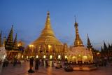 Shwedagon Paya, Yangon (Rangoon), Myanmar (Burma), Asia Photographic Print by  Tuul