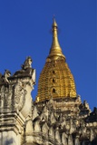 Golden Stupa of Ananda Pahto, Bagan, Myanmar, Indochina Photographic Print by Alain Evrard