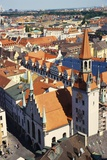 Altes Rathaus with a Rooftop View over Munich, Bavaria, Germany Photographic Print by Ken Gillham