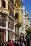 City Streets, Valencia, Spain, Europe Photographic Print by Neil Farrin