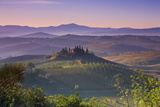 Iconic Tuscan Farmhouse, Val D' Orcia, UNESCO World Heritage Site, Tuscany, Italy, Europe Photographic Print by Doug Pearson