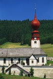 Church and Cemetery, Urach, Black Forest, Baden Wurttemberg, Bavaria, Germany Photographic Print by Gavin Hellier