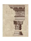 Architectural Rendering I Burlap Premium Giclee Print by Hugo Wild