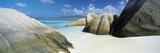 Anse Source D'Argent, La Digue , Seychelles Fotografisk tryk af Lee Frost