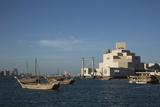 Museum of Islamic Art, Doha, Qatar, Middle East Photographic Print by Angelo Cavalli