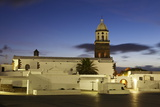 Iglesia Nuestra Church, Teguise, Lanzarote, Canary Islands, Spain, Europe Photographic Print by Markus Lange