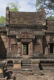 Banteay Srei Hindu Temple, Nr Angkor, Siem Reap, Cambodia Photographic Print by Robert Harding
