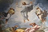 Raphael's Oil Painting of the Resurrection of Jesus Reprodukcja zdjęcia autor Godong