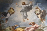 Raphael's Oil Painting of the Resurrection of Jesus Photographic Print by  Godong