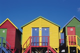 Beach Hut, St James, South Africa Photographic Print by Robert Cundy