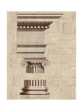 Architectural Rendering II Burlap Premium Giclee Print by Hugo Wild