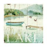 Lakeside II Premium Giclee Print by Daphne Brissonnet
