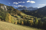 Italy, Cortina, Dolomites, View from over Rolling Landscape Photographic Print by Gavin Hellier