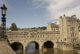 Pulteney Bridge, Bath, UNESCO World Heritage Site, Avon, England, United Kingdom, Europe Photographic Print by Jean Brooks